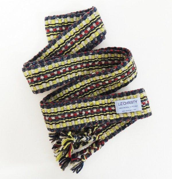 Hand woven crios belt