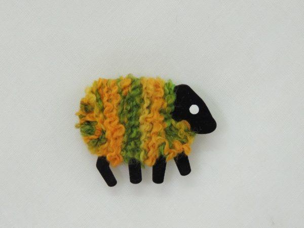 LizzyC Sheep fridge magnet