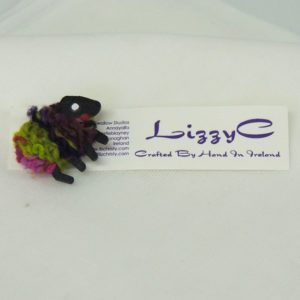 LizzyC|Biddy|Sheep|Brooch|on-card