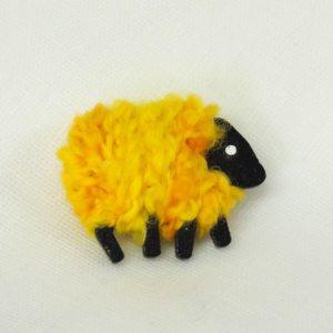 LizzyC|Sheep|Brooch|Buttercup