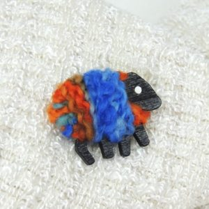 LizzyC|Sheep|Christine|Brooch