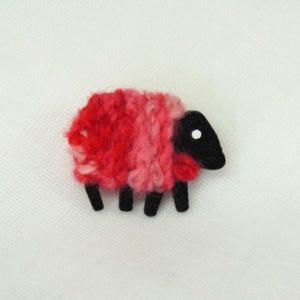 lizzyC|sheep|pin|coral