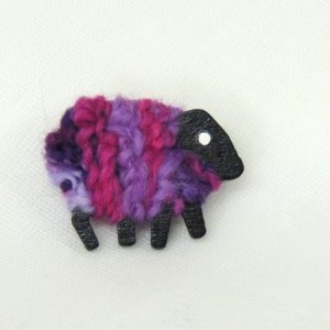 liz christy sheep brooch pink_purple Dolly