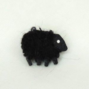 front|lizzyc|sheep|pin|Ebony
