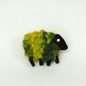 LizzyC|Sheep|Brooch|Greengrass