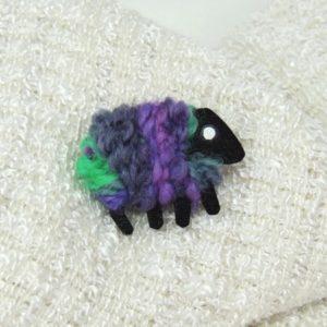 lizzyC|sheep|pin|kitty|purple_green