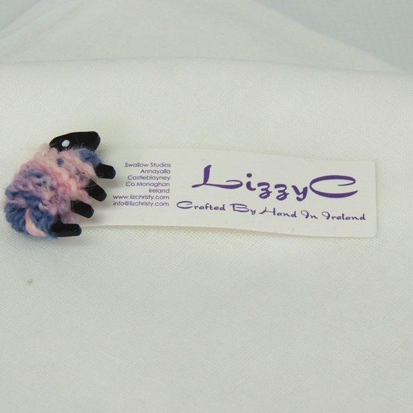 Sheep pin presentation_card Misty