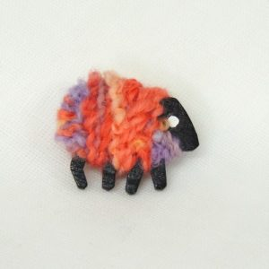 front|irish|sheep|brooch|peaches
