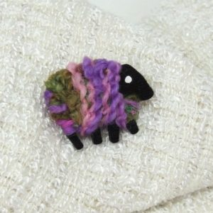 lizzyc|sheep|brooch|pink_lilac_green