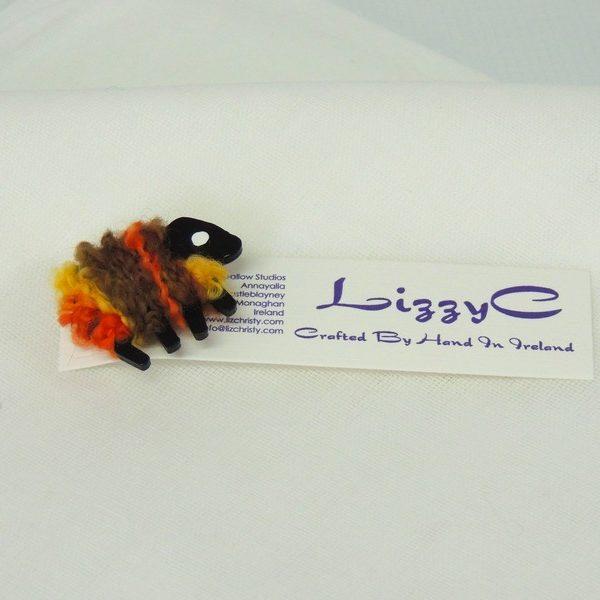 LizzyC|Sheep|Brooch|presented_on_card