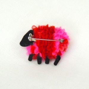 liz|christy|sheep|brooch|