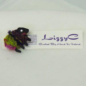 LizzyC|Biddy|Sheep|Brooch|on-card